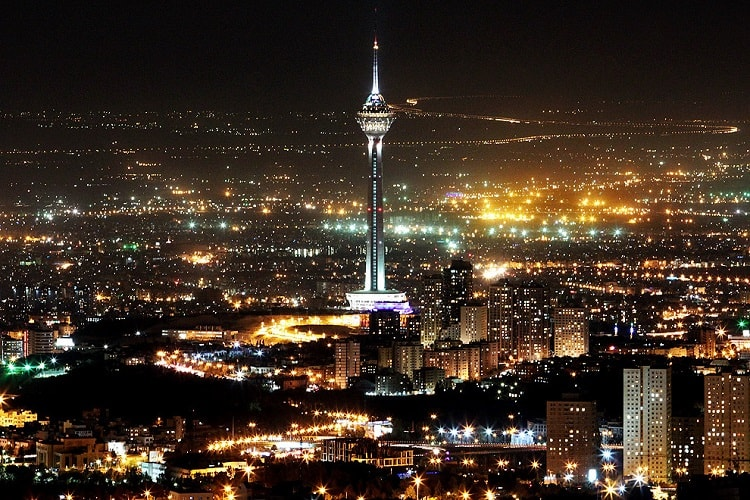 milad tower of tehran
